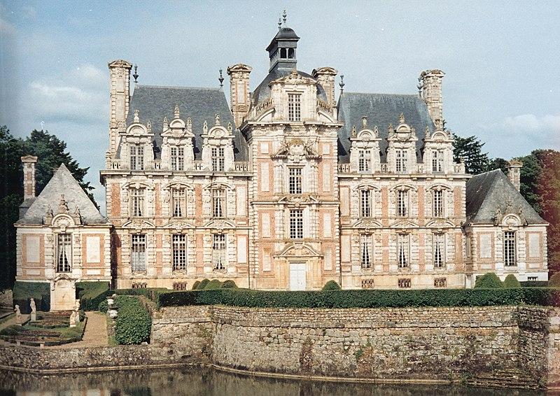 Photo du Monument Historique Domaine de Beaumesnil (également sur commune de Gouttières) situé à Beaumesnil