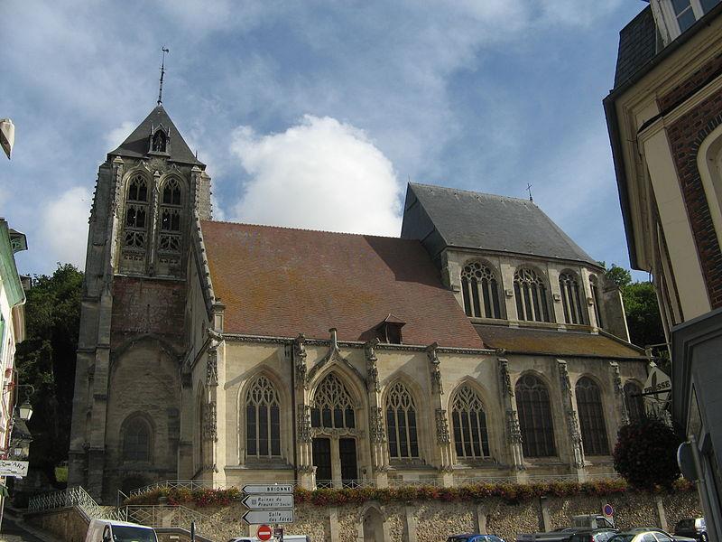 Photo du Monument Historique Eglise Saint-Nicolas situé à Beaumont-le-Roger