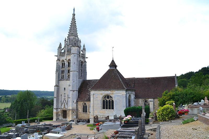 Photo du Monument Historique Eglise Saint-Pierre situé à Beaumontel