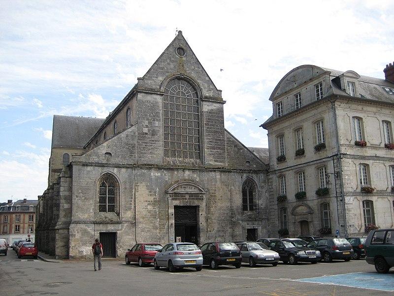 Photo du Monument Historique Ancienne abbaye Notre-Dame situé à Bernay