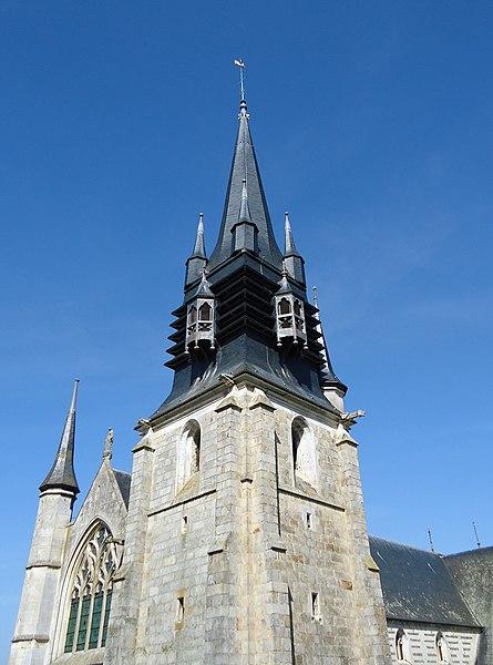 Photo du Monument Historique Eglise Notre-Dame-de-la-Couture situé à Bernay