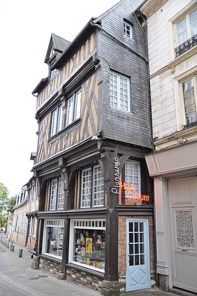 Photo du Monument Historique Immeuble situé à Bernay