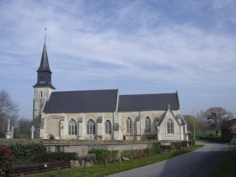 Photo du Monument Historique Eglise situé à Berville-sur-Mer