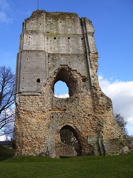 Photo du Monument Historique Ruines du château situé à Brionne