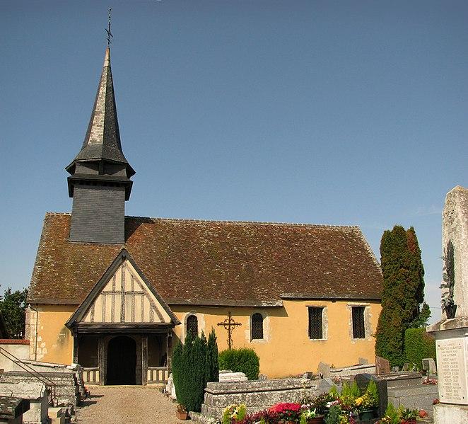 Photo du Monument Historique Eglise situé à Buis-sur-Damville