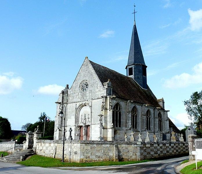 Photo du Monument Historique Eglise situé à Cesseville