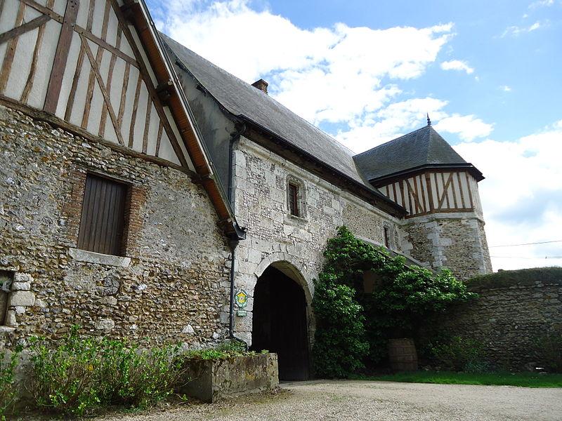 Photo du Monument Historique Manoir de la Boissière situé à La Croix-Saint-Leufroy