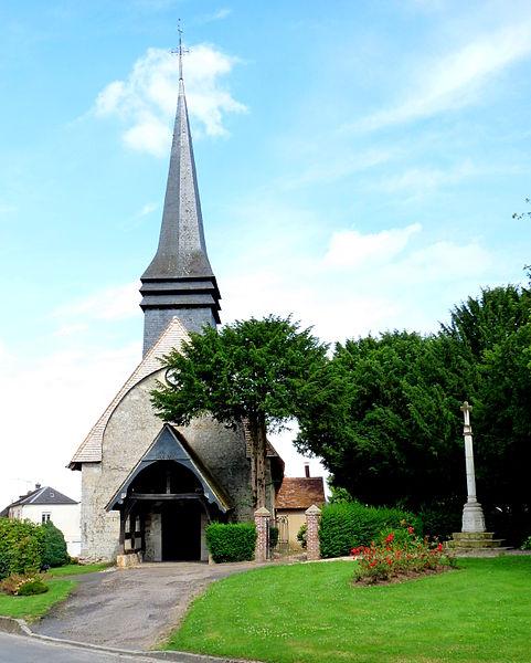 Photo du Monument Historique Eglise situé à Drucourt
