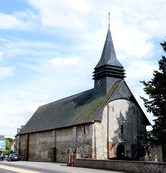 Photo du Monument Historique Eglise situé à Duranville