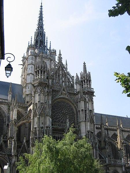 Photo du Monument Historique Cathédrale Notre-Dame situé à Evreux