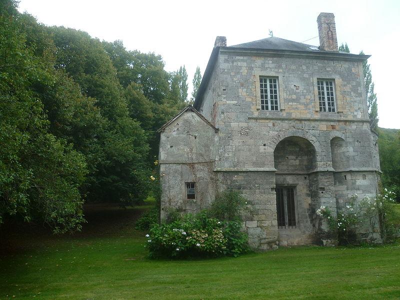 Photo du Monument Historique Ancienne abbaye de Grestain situé à Fatouville-Grestain