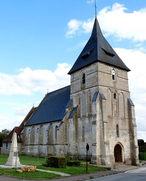 Photo du Monument Historique Eglise situé à Ferrières-Haut-Clocher