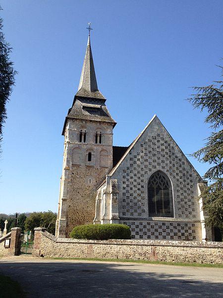 Photo du Monument Historique Eglise Saint-Martin situé à Fontaine-la-Soret