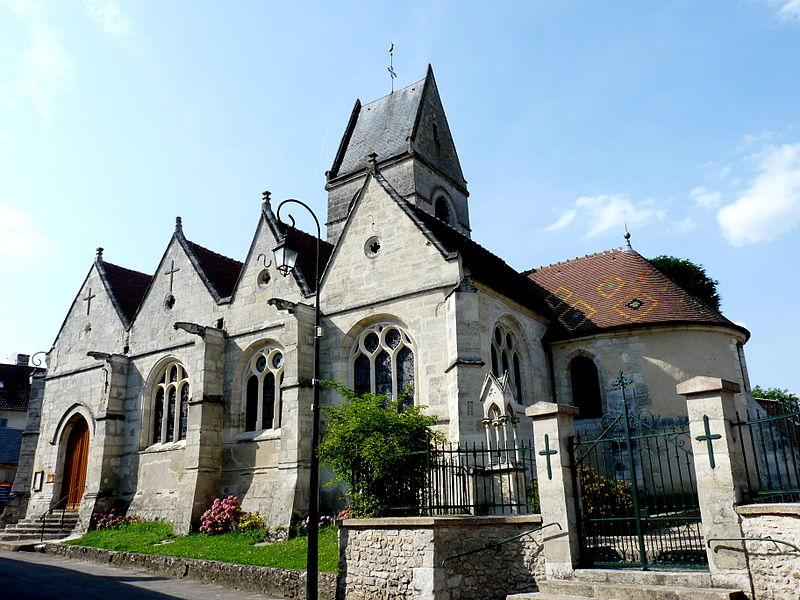 Photo du Monument Historique Eglise situé à Fourges