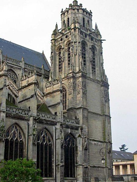 Photo du Monument Historique Eglise Saint-Gervais-Saint-Protais situé à Gisors