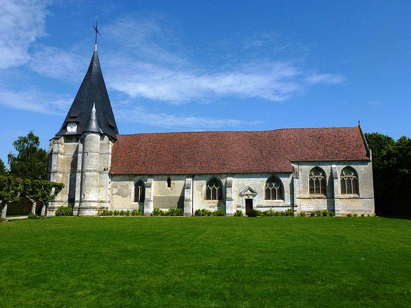 Photo du Monument Historique Eglise situé à Goupillières