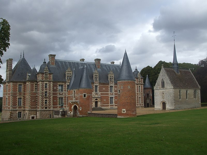 Photo du Monument Historique Château de Chambray situé à Gouville