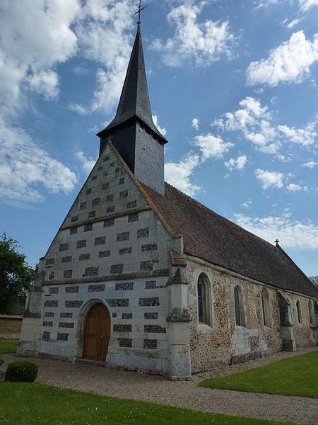 Photo du Monument Historique Eglise situé à Grosley-sur-Risle