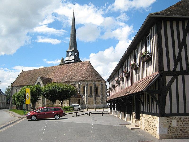 Photo du Monument Historique Eglise paroissiale Saint-Ouen situé à Harcourt