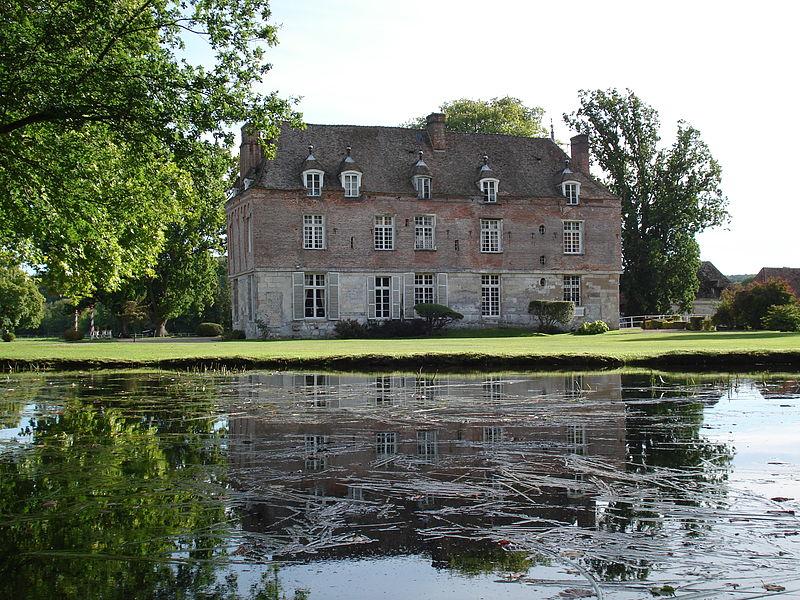 Photo du Monument Historique Manoir situé à Heudreville-sur-Eure