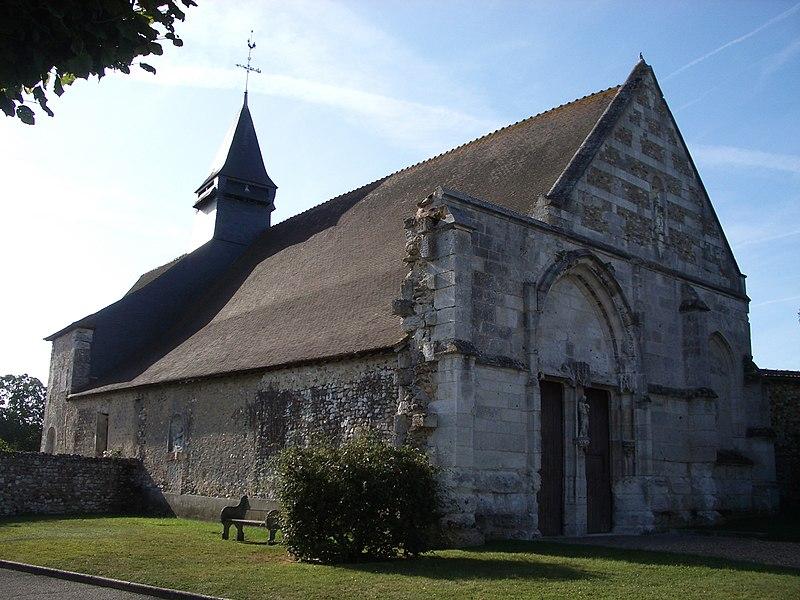 Photo du Monument Historique Eglise situé à Jouy-sur-Eure