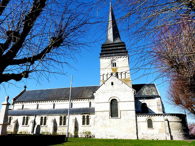 Photo du Monument Historique Eglise Saint-Ouen situé à Léry