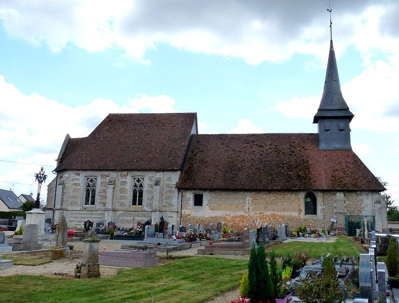 Photo du Monument Historique Eglise situé à Louversey