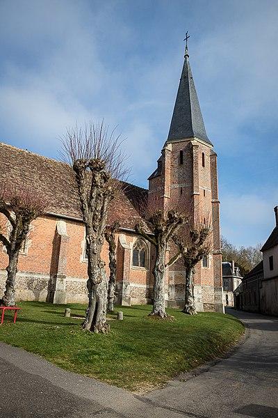 Photo du Monument Historique Eglise Saint-Nicolas situé à Louye