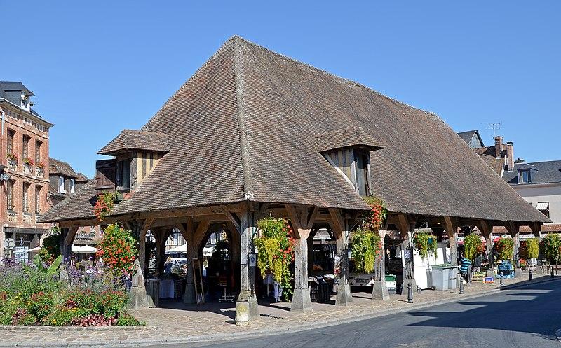 Photo du Monument Historique Halle situé à Lyons-la-Forêt