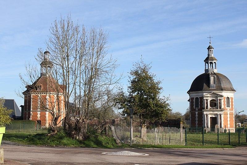 Photo du Monument Historique Château de Bonneboscq situé à Manneville-sur-Risle