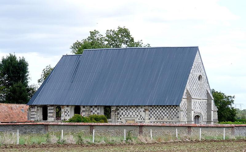 Photo du Monument Historique Ancienne église situé à Le Mesnil-Hardray