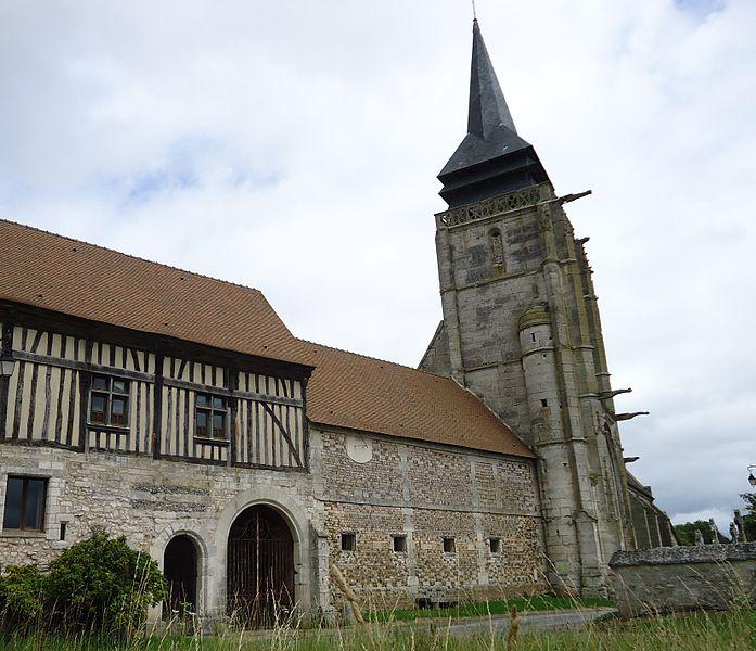 Photo du Monument Historique Eglise situé à Le Mesnil-Jourdain