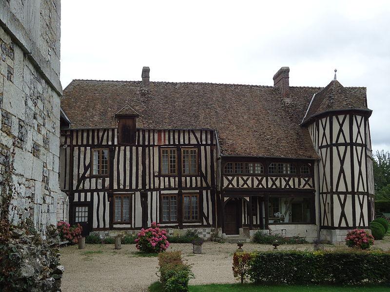 Photo du Monument Historique Manoir-ferme situé à Le Mesnil-Jourdain