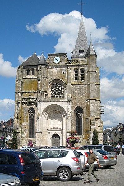 Photo du Monument Historique Eglise Saint-Pierre-et-Saint-Paul situé à Le Neubourg