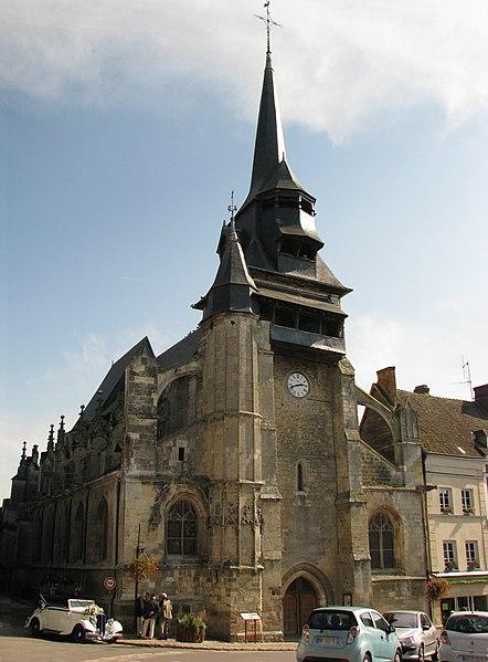 Photo du Monument Historique Eglise Saint-Martin situé à Nonancourt
