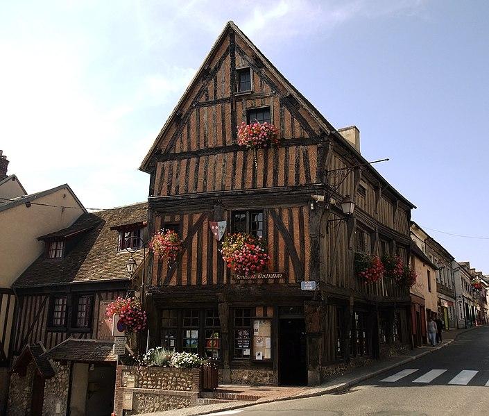 Photo du Monument Historique Immeuble situé à Nonancourt