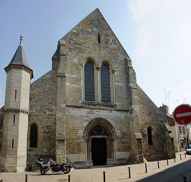 Photo du Monument Historique Eglise Saint-Aubin situé à Pacy-sur-Eure