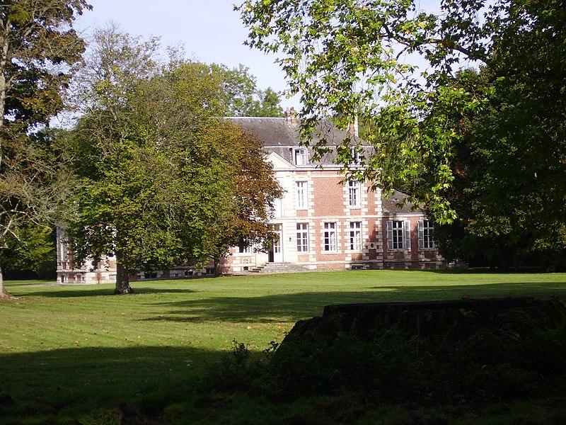 Photo du Monument Historique Château de Saint-Léger situé à Plessis-Sainte-Opportune (Le)
