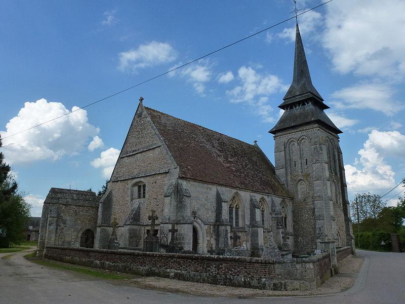 Photo du Monument Historique Eglise du Plessis situé à Le Plessis-Sainte-Opportune