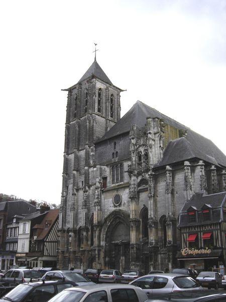 Photo du Monument Historique Eglise Saint-Ouen situé à Pont-Audemer