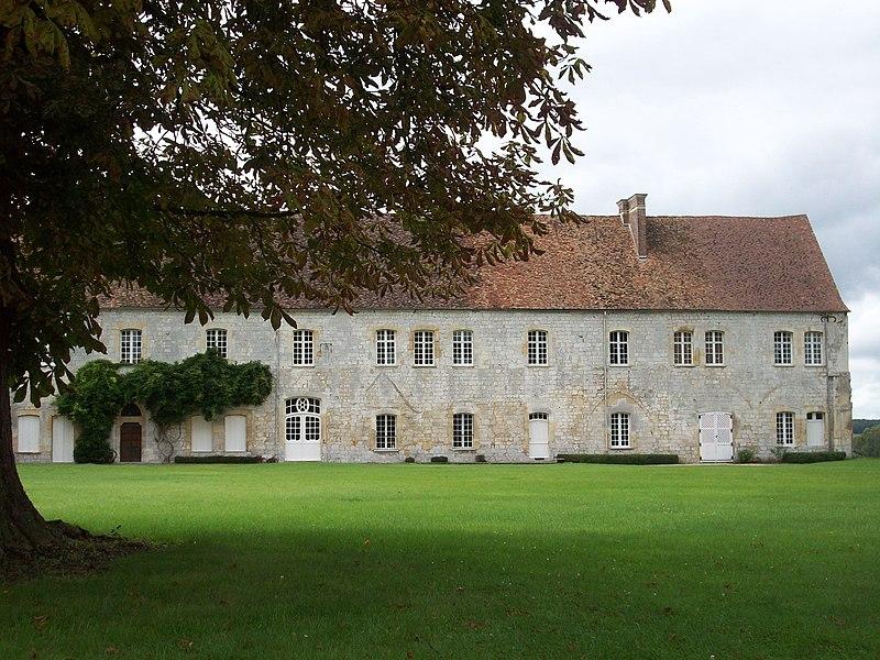 Photo du Monument Historique Abbaye de Bonport situé à Pont-de-l'Arche