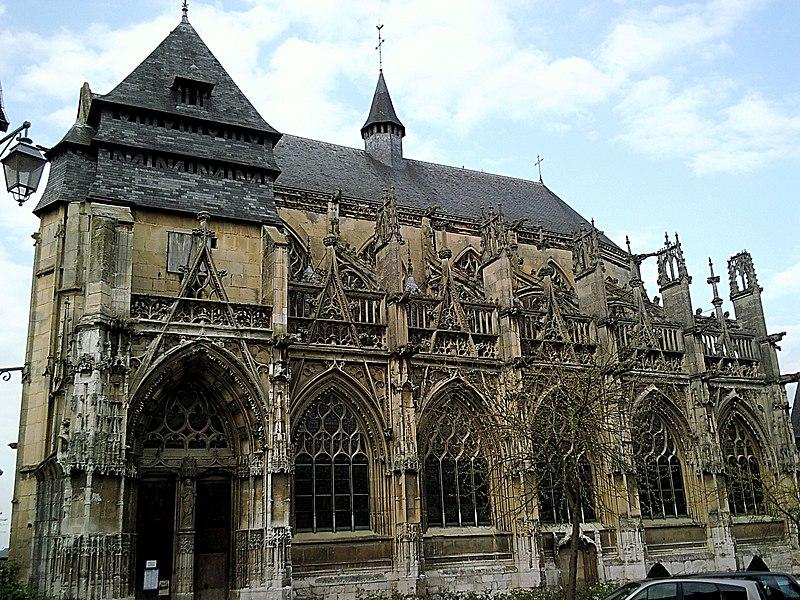 Photo du Monument Historique Eglise Notre-Dame-des-Arts situé à Pont-de-l'Arche