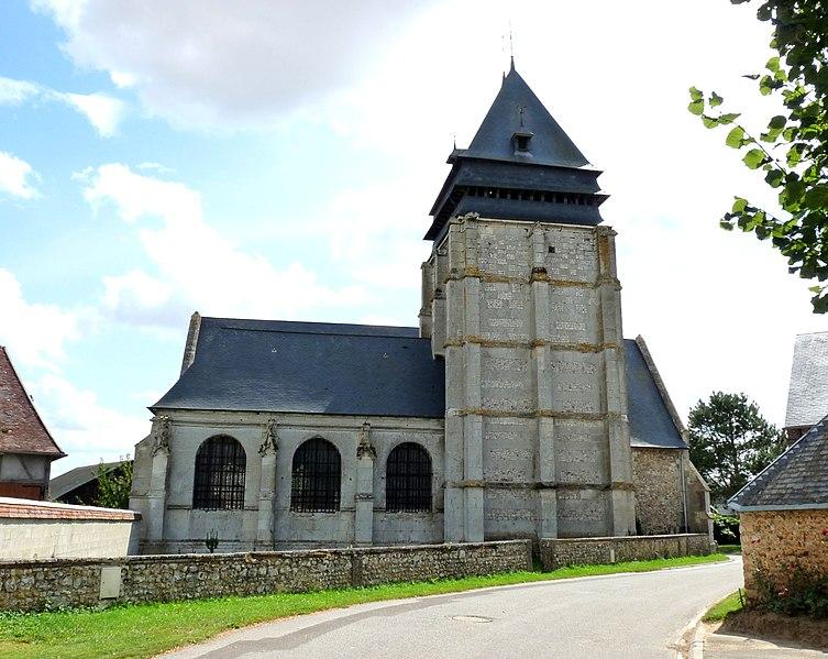 Photo du Monument Historique Eglise situé à Prey