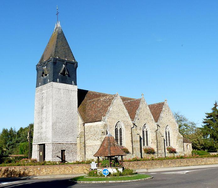 Photo du Monument Historique Eglise Saint-Gervais-Saint-Protais situé à Pullay