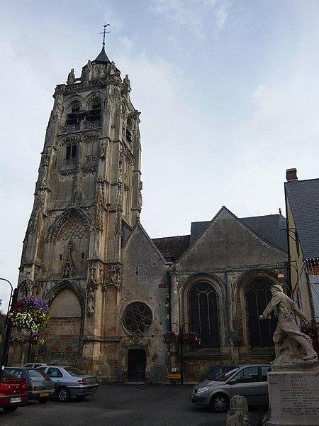 Photo du Monument Historique Eglise Saint-Germain situé à Rugles