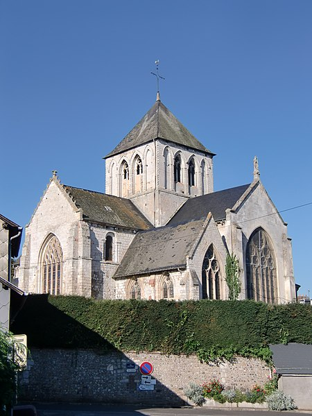 Photo du Monument Historique Eglise Saint-Germain situé à Saint-Germain-Village