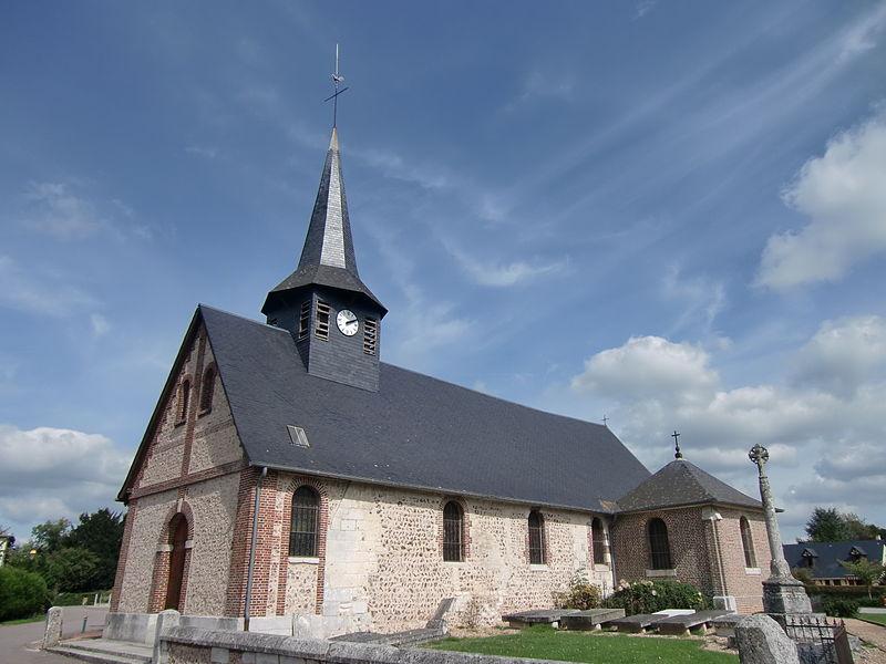 Photo du Monument Historique Croix de cimetière situé à Saint-Ouen-de-Thouberville