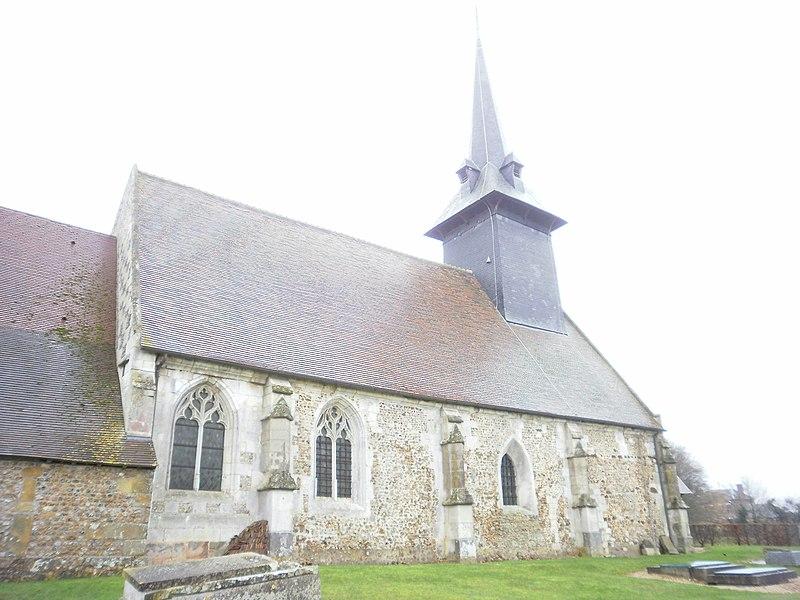 Photo du Monument Historique Eglise Saint-Nicolas situé à Sébécourt