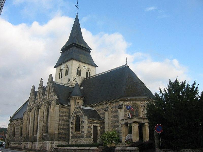 Photo du Monument Historique Eglise situé à Serquigny