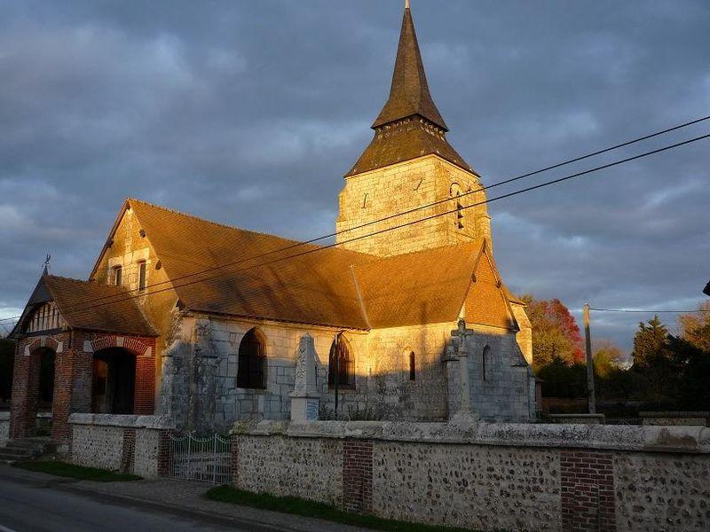Photo du Monument Historique Croix situé à Surtauville